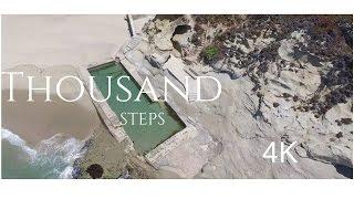 Thousand Steps Laguna Beach, CA   Tide Pools   DJI Phantom 3 4k   DJI OSMO  