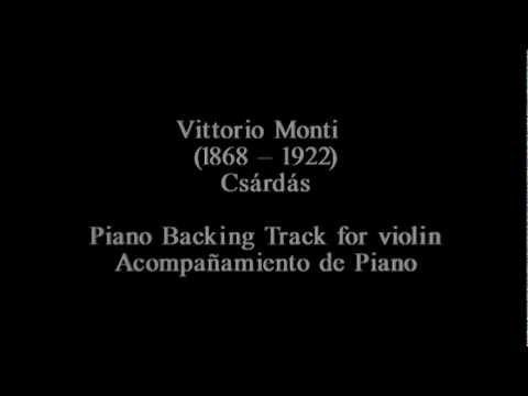 Vittorio Monti - Czardas [Piano Track]