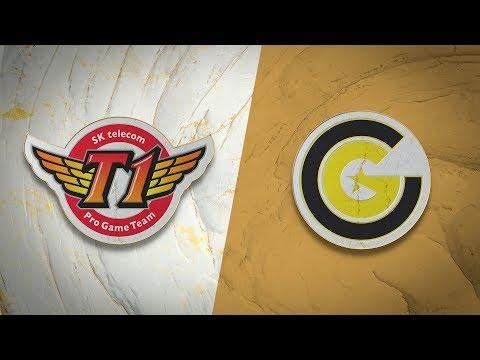 T1 vs Clutch Gaming vod