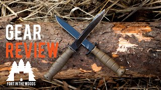 Glock 81 Field Knife | FITW Gear Review | Fort In The Woods