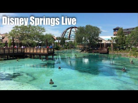 Disney Springs Live Stream - 4-6-18 - Walt Disney World