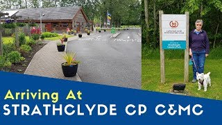 Arriving At Strathclyde Country Park Caravan And Motorhome Club Site | West Highland And Uist Tour