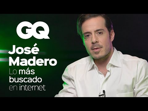 José Madero responde lo MÁS buscado de Internet | GQ México - GQ México y Latinoamérica
