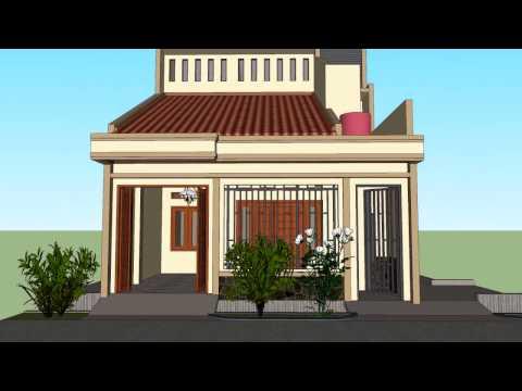 Rumah Tinggal Sederhana, Ukuran 7x11m dan Rencana nambah 3 K.Tidur di Lantai atas.