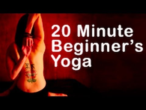 Yoga for Beginners - 20 minute home beginners yoga workout