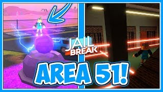 Area 51?! - Alien Research, Maximum Security Prison + More! | Jailbreak Military Update - Roblox