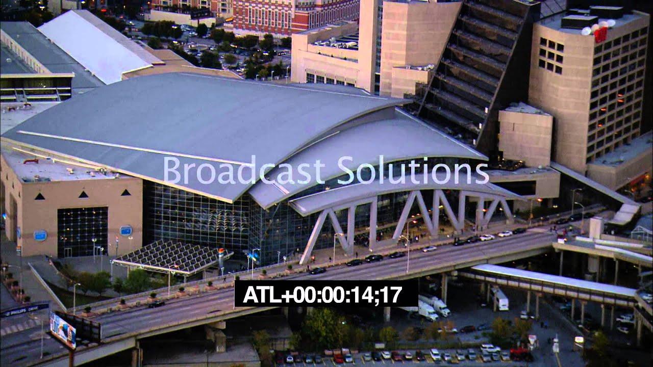 Mercedes Benz Arena Atlanta >> Philips Arena - Atlanta sign - YouTube