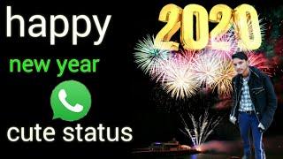 Happy New Year 2020 Happy New Year Whatsapp Status 2020 New year Whatsapp Satus Shahzadhe
