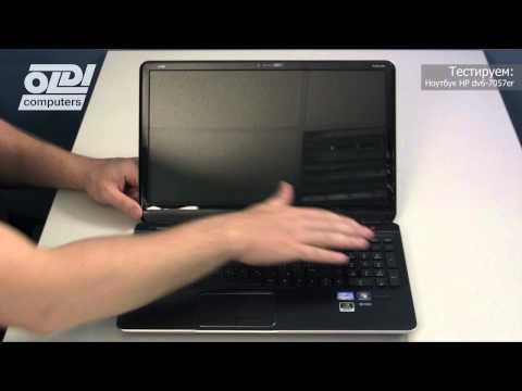 Обзор ноутбука HP dv6-7057er