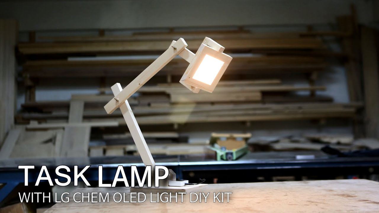 How to make a task lamp with lg display oled light diy kit youtube solutioingenieria Choice Image