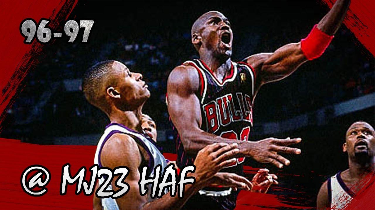 18a3da3b2162e8 Michael Jordan vs Rookie Ray Allen Highlights Bulls vs Bucks (1997.01.10) -  55pts total! - YouTube