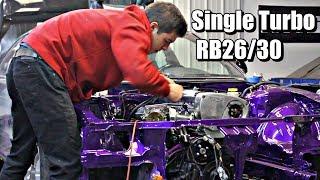 2JZ Killer Gets its Heart | Big Turbo RB26/30 240SX S14 Build Part 5