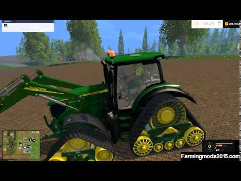 john deere 6210r quad track v1 farming simulator 2015. Black Bedroom Furniture Sets. Home Design Ideas