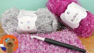 Вязание крючком с пряжей для губок и мочалок Creative Bubble | подарки и декор своими руками