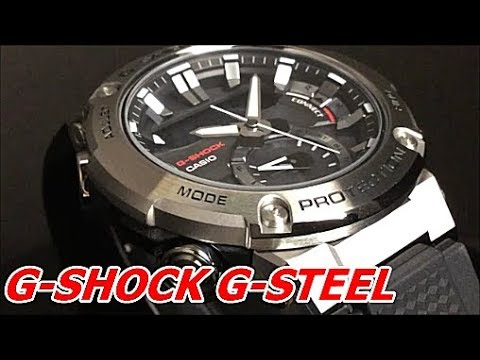 Casio G Shock G Steel カーボンコアガード Gst B200 1ajf Youtube