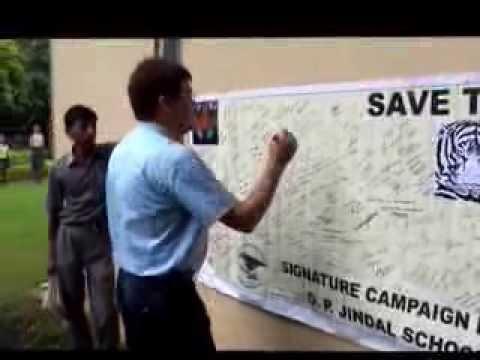 O.P. Jindal School, Raigarh - Video for Paryavaran Mitra Award, 2013
