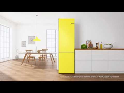 bosch vario style fridge freezer youtube. Black Bedroom Furniture Sets. Home Design Ideas