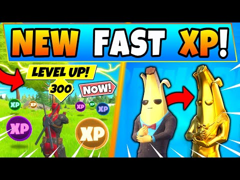 NEW XP TRICKS For EASY LEVEL 300! Fortnite XP Coins And Tips (Hidden Challenges In Battle Royale)