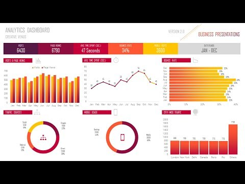 How To Create Web Traffic Analytics Reporting Dashboard Using Microsoft Excel and PowerPoint PPT