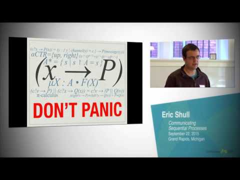 Eric Shull: Communicating Sequential Processes (September 22, 2015)