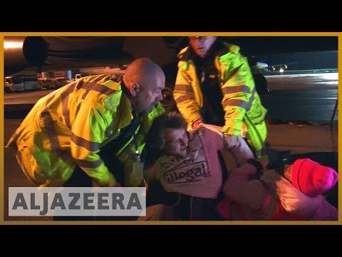 """🇬🇧UK: Anger over terrorism conviction for """"Stansted 15' activists   Al Jazeera English"""