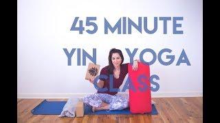 45 Minute Yin Yoga Class