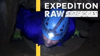 A Real Life Bone Collector  Recovering an Extinct Human Ancestor | Expedition Raw