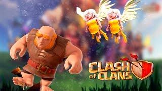 Sanadoras con gigantes para Ayuntamiento 6 | Clash of clans