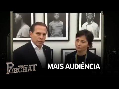 João Doria aumenta audiência de seu canal demitindo Soninha