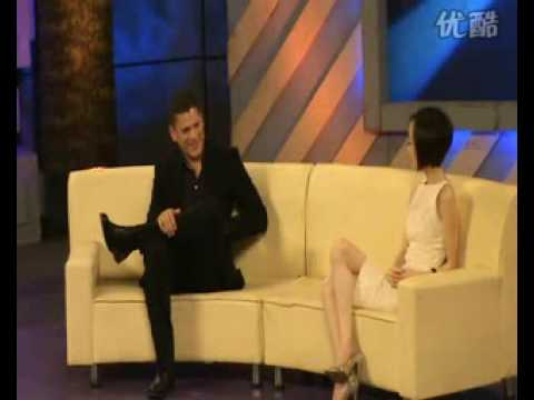 """Wentworth Miller at """"A Date with Lu Yu"""" #4"""