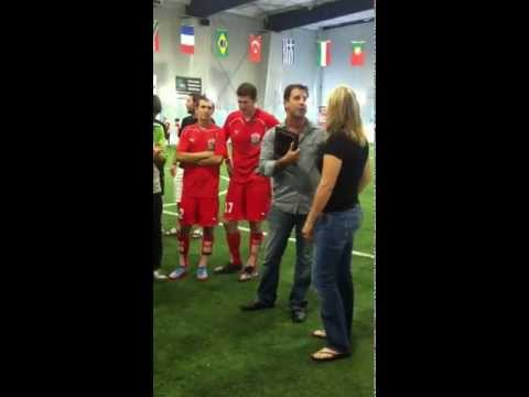Cheryl Rosowsky - Soccer Hall of Fame Ceremony