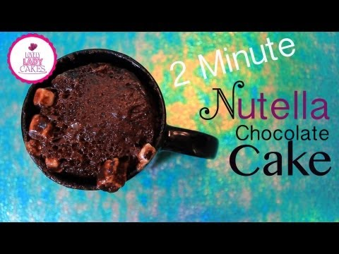2 minute Nutella Chocolate Cake + Cake Talk