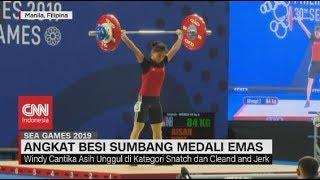 Windy Raih Medali Emas Angkat Besi di SEA Games 2019