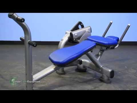 Used Gym Equipment - Life Fitness Signature Ab Crunch Bench