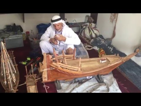 Qatari Model Shipbuilder