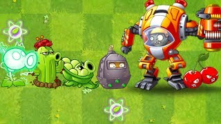 Plants vs Zombies 2 Battlez This Week Strategy - Z-MECH New Zombie vs Electric Peashooter