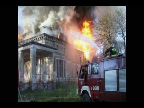 Dzień strażaka i Pożar Pałacu w Oporowie w dniu 04 05 2007r