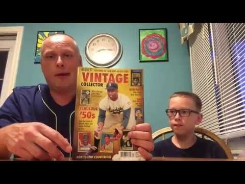 Beckett Vintage Collector Magazine Review - Featuring Baseball Cards from the 50's, 60's and 70's