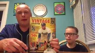 Beckett Vintage Collector Magazine Review - Featuring Baseball Cards from the 50