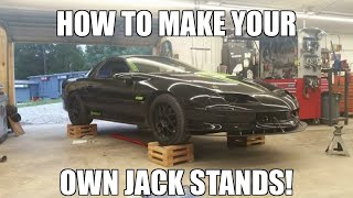 How To Make Your Own Jack Stands!!