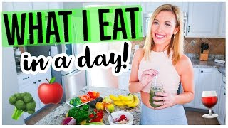 WHAT I EAT IN A DAY  🥦🍎💪🏼 | MEDITERRANEAN DIET +  FITNESS ROUTINE 2019 | DITL SAHM MOMMY VLOG