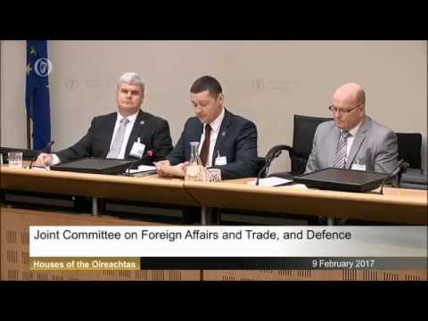 RDFRA Oireachtas Committee Delegation 09.02.2017