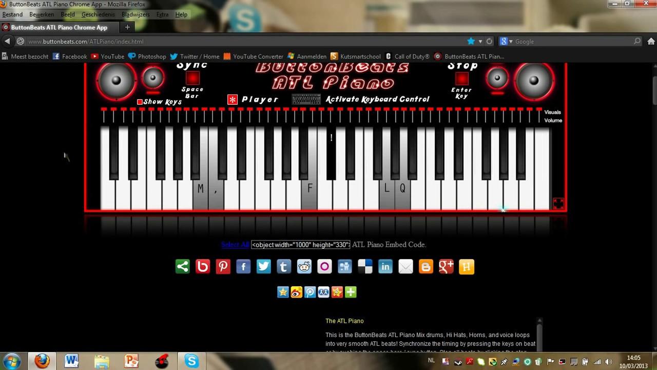 buttonbeats atl piano