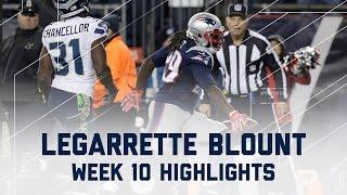 LeGarrette Blount Rushes for 3 TDs   Seahawks vs. Patriots   NFL Week 10 Player Highlights