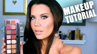 SUMMER GLAM MAKEUP ROUTINE | Talk-thru Tutorial