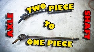 Dana 30 - 2 Piece to 1 Piece Axle Shaft Conversion - Part 1 of 2