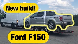 Rebuilding a Wrecked Ford F150 PART 1