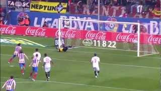La Liga | Atlético de Madrid - Sevilla FC (4-0) | 25-11-2012 | J13 | Resumen