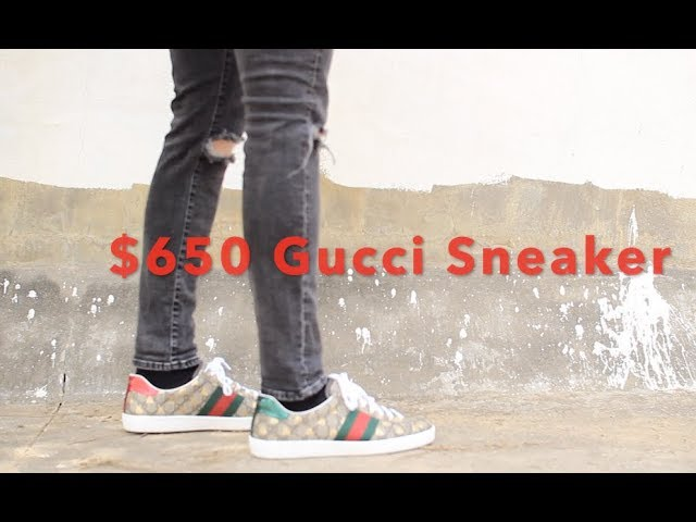 Gucci New Ace Supreme Sneaker Review