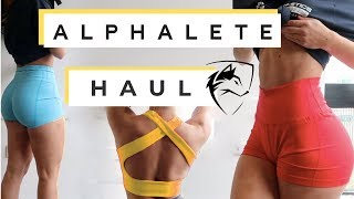 ALPHALETE HAUL - April 2019, leggings, shorts, bras, crop tops